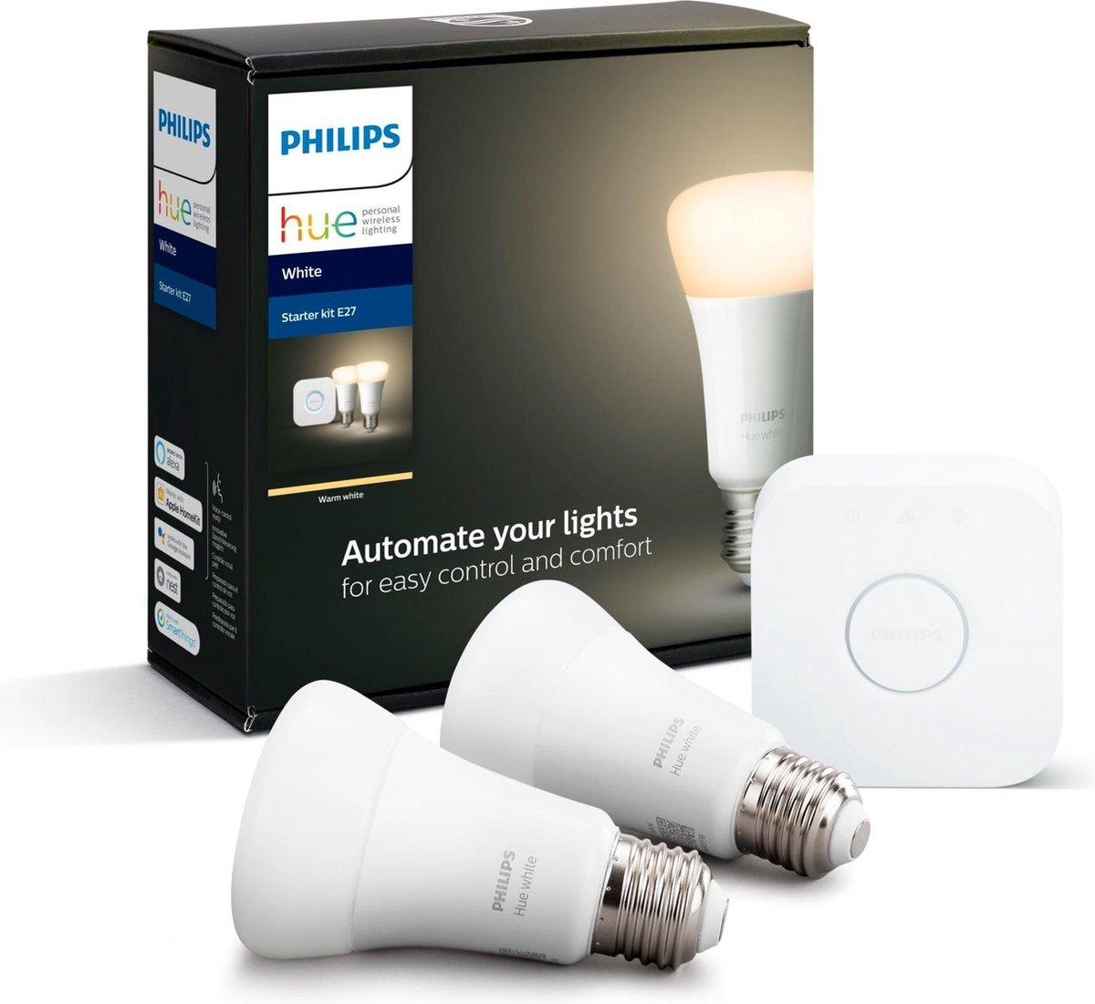 Philips Hue - E27 Starter kit - Warm White - Bluetooth