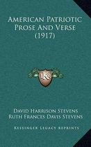American Patriotic Prose and Verse (1917)