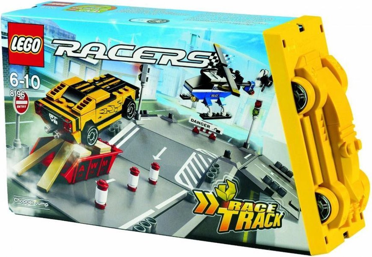 LEGO Racers Helikopterjacht - 8196