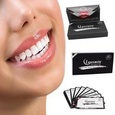 LuxSmile Charcoal tandenbleekstrips - Whitening Strips