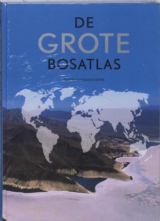 Boek cover Grote Bosatlas 53e editie van Henk Leenaers (Hardcover)