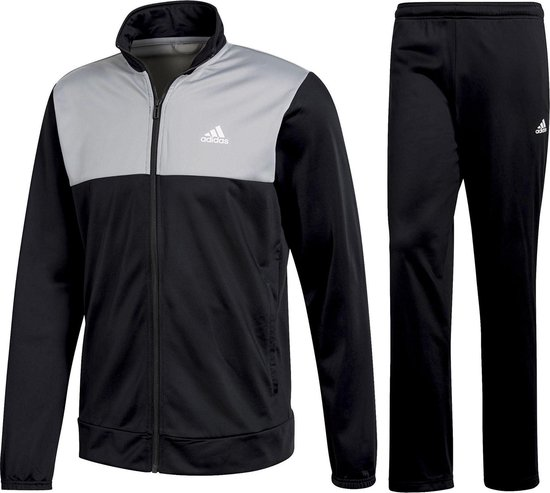 bol.com | adidas Back 2 Basics Trainingspak Heren zwart/grijs