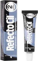 RefectoCil Wimper- en Wenkbrauw verf - Blauw-zwart nr. 2 - 15 ml