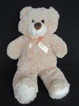 Pluche Knuffel Teddybeer groot XL 60cm - met kraalogen