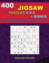 400 JIGSAW puzzles 9 x 9 EASY - MEDIUM + BONUS 250 LABYRINTH 20 x 20
