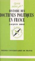 Histoire des doctrines politiques en France