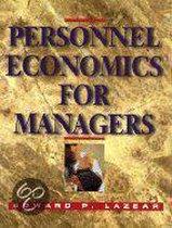 Boek cover Personnel Economics for Managers van Edward P. Lazear