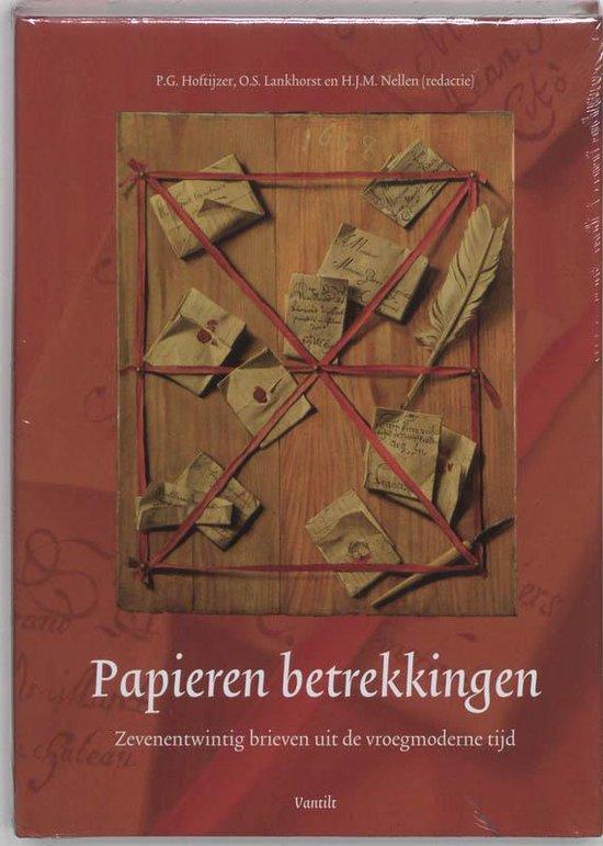 Papieren betrekkingen - Hoftijzer  