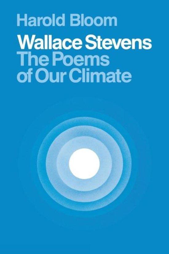Boek cover Wallace Stevens van Harold Bloom (Paperback)