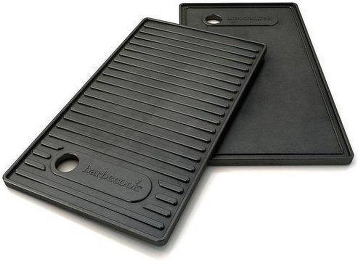 Barbecook Contactplaat - 24 x 42 cm - Zwart