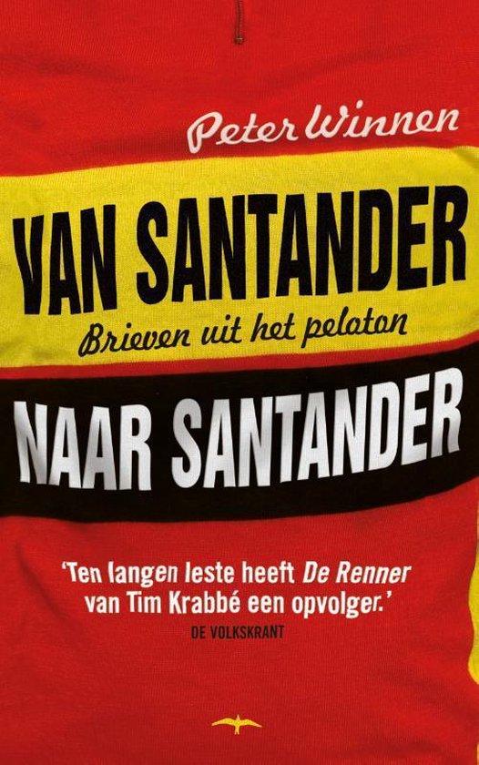 Boekomslag voor Van Santander naar Santander