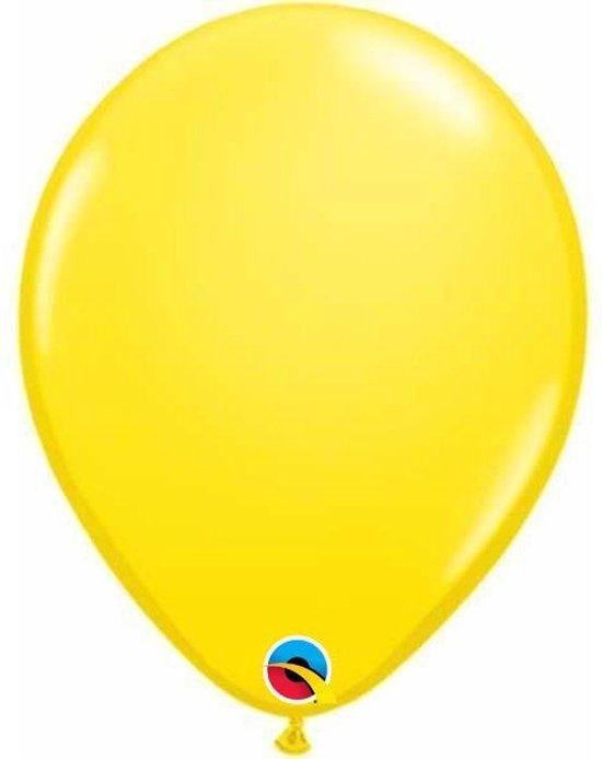 Ballonnen Geel 30 cm 25 stuks