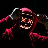 The Purge Masker, Halloween, Carnaval, LED verlicht, diverse kleuren