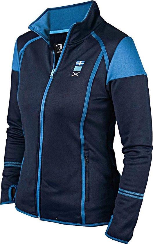 Performance vest Helix blauw L
