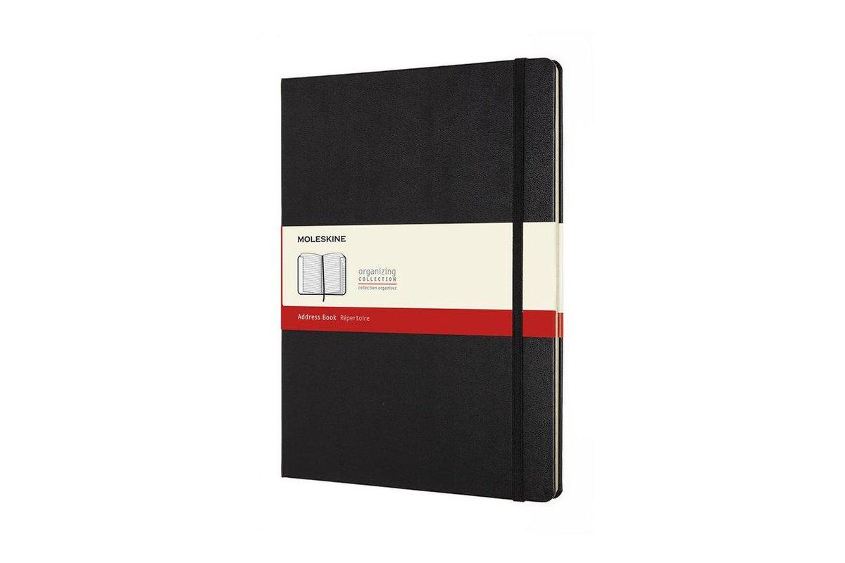 Moleskine Adresboek Hard Cover - XL - Zwart