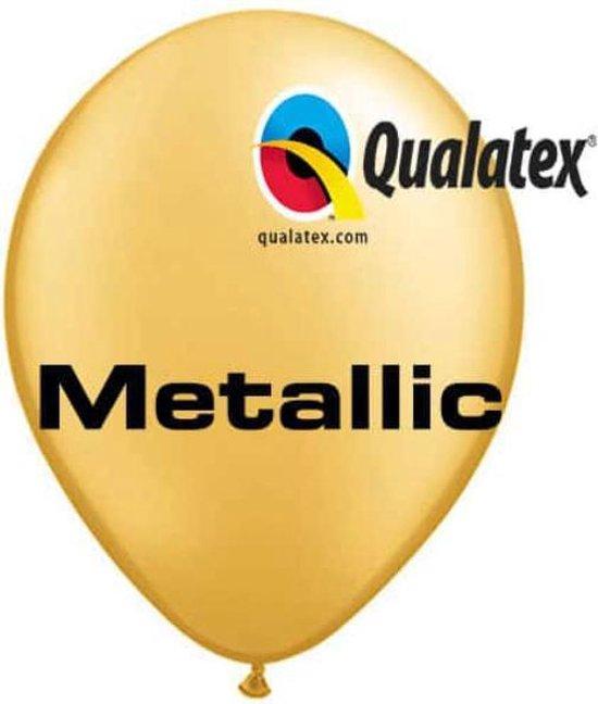 Ballonnen Pearl Goud 45 cm 50 stuks