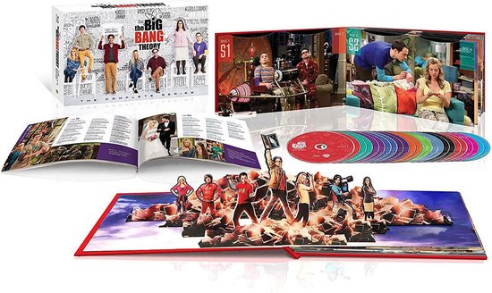 The Big Bang Theory - Seizoen 1 t/m 12 - The Complete Series (Limited Edition) (Import) (Blu-ray)