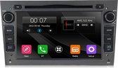 Opel Autoradio Bluetooth | Aux | EU Navigatie | USB & DVD| Grijs | Gratis Camera