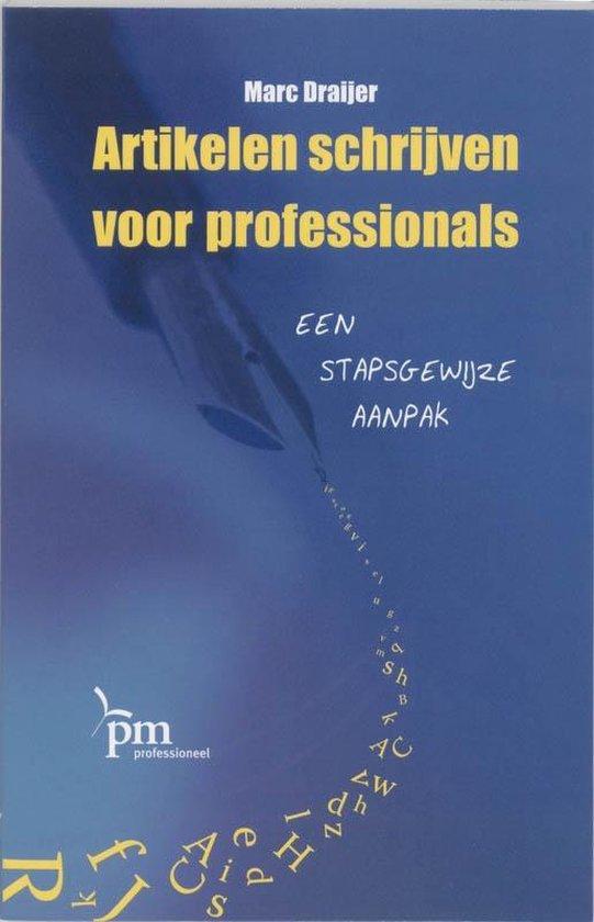 Artikelen schrijven voor professionals - M. Draijer | Fthsonline.com