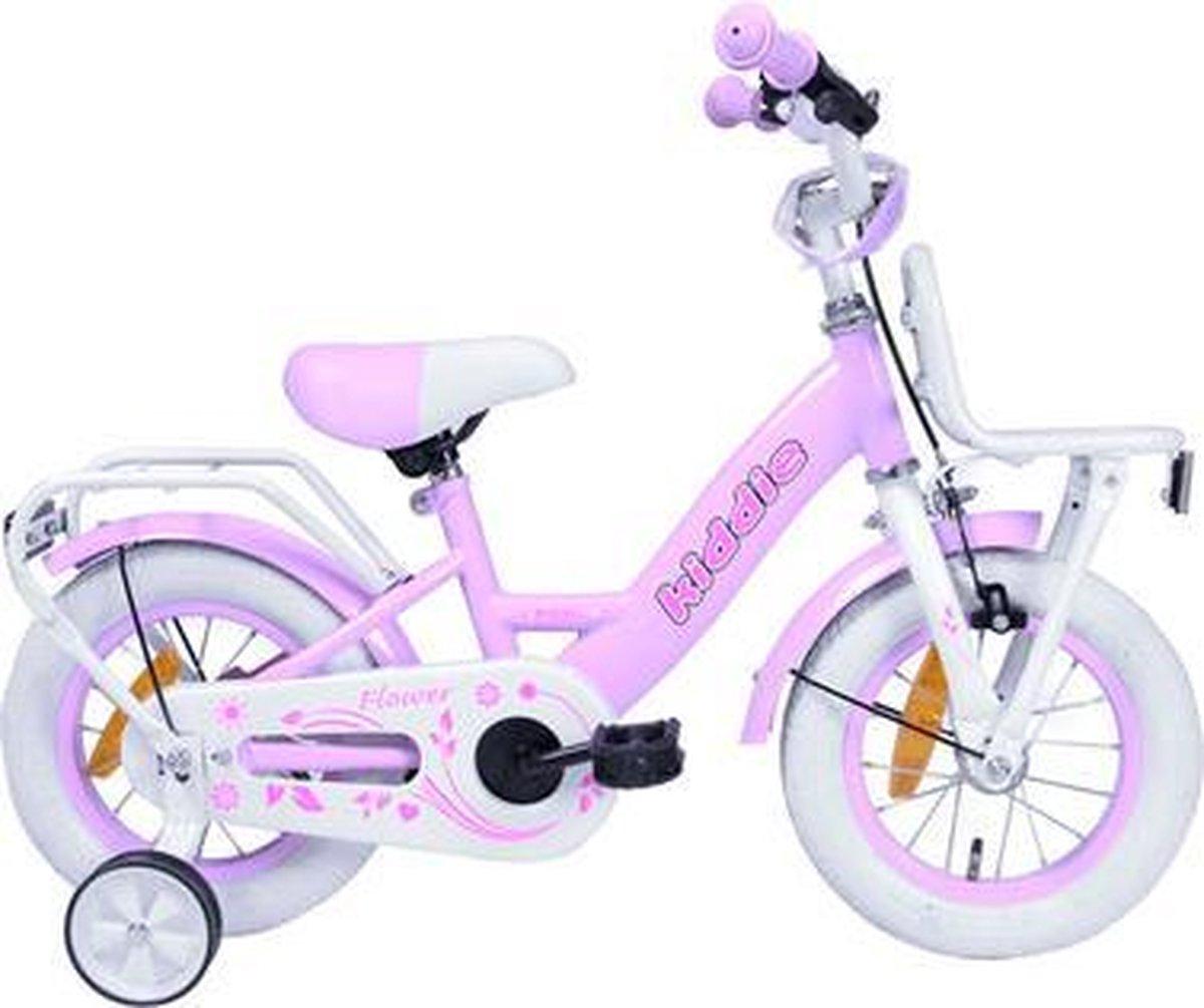 Kinderfiets Kiddie Dutch Bike (V-Brake + Cb) M 12'' 1N Roze