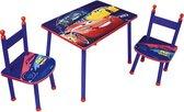 Disney Disney Cars Tafel en stoeltjes/Zithoekje - BlauwTafel en stoeltjes/Zithoekje - Blauw