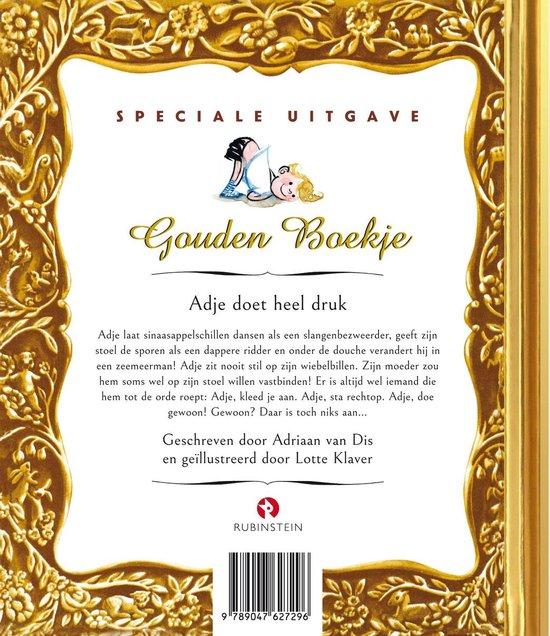 Gouden Boekjes  -   Adje Doet Heel Druk
