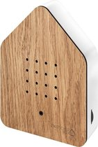 Zwitscherbox Wood vogelhuisje sensor eiken / wit