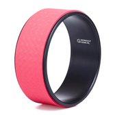 Workout Gear - Yoga Wiel - Pilates Wiel - Rood/Zwart