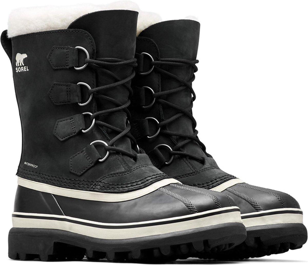 | Sorel Caribou Snowboots Dames Black. Stone Maat 39