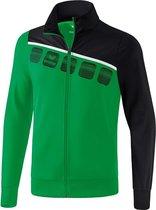 Erima 5-C Polyesterjack - Jassen  - groen - 116