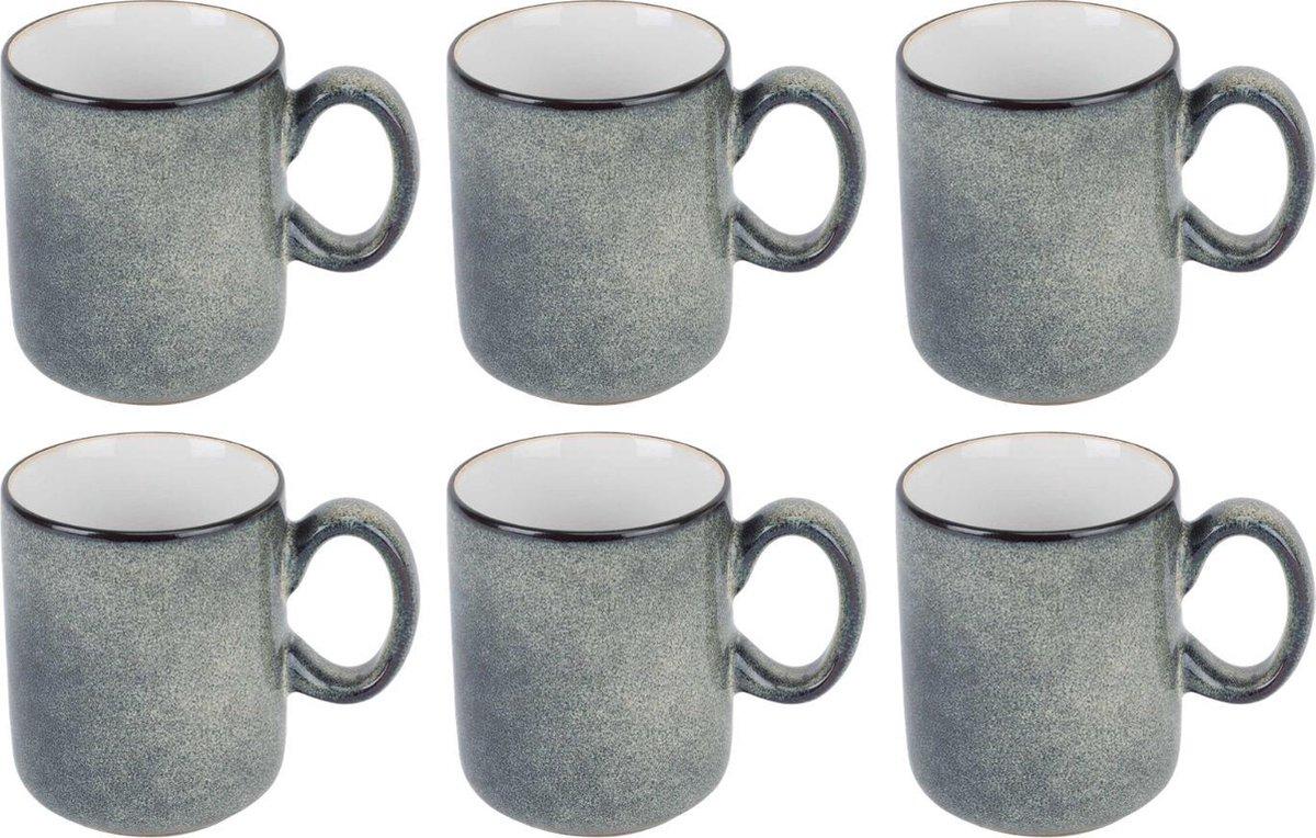 Cosy&Trendy Ciel Blanq Koffiekop 18 cl - 6 stuks