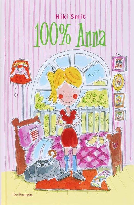 Cover van het boek '100 % Anna' van N. Smit