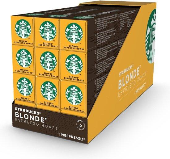 Starbucks® Blonde® Espresso Roast by Nespresso® Blonde Roast - 12 x 10 koffie capsules