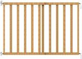 Noma Veiligheidshekje verlengbaar 63.5-106 cm hout natuurlijk 93729