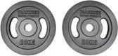 Hammer - Olympische Halterschijven - Gietijzer - per Paar - 2x 20 kg
