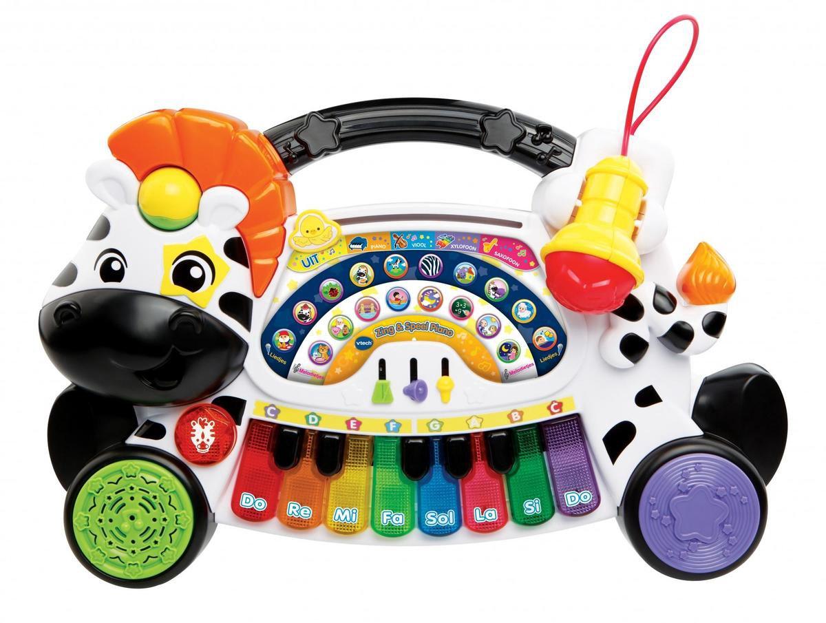 Vtech Baby Zing & Speel Piano - Educatief Babyspeelgoed