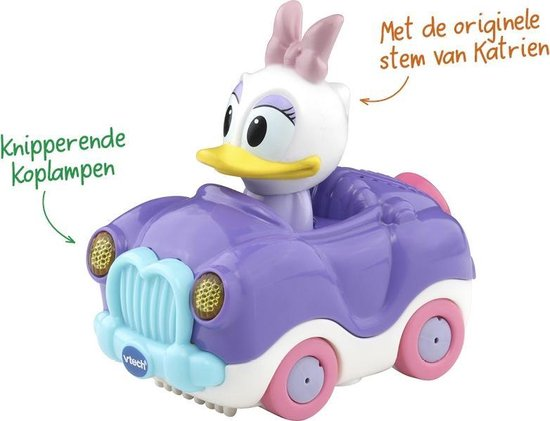 VTech Toet Toet Auto's Disney Edition Katrien Cabrio - Speelfiguur