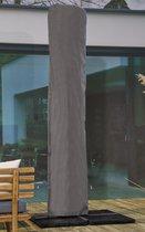 ATLANTIS Weersbestendige Parasolhoes - Max. 4 x 4 m - Grijs / Antraciet - Zweefparasol