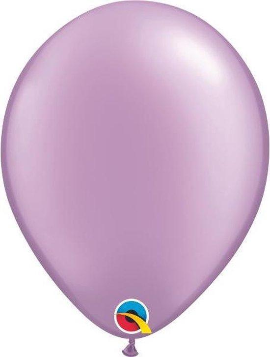 Ballonnen Pearl Lavendel 45 cm 50 stuks