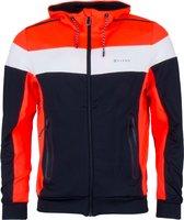 Sjeng Sports Sportjas - Maat M  - Mannen - oranje/zwart/wit