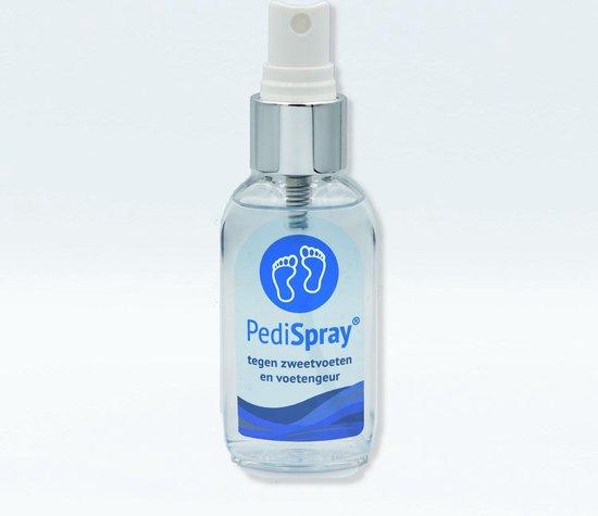 PediSpray® - Voetspray tegen Zweetvoeten, Stinkvoeten & Stinkende schoenen - Anti Transpirant