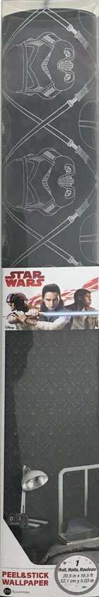 Bol Com Roommates Star Wars Dark Side Peel And Stick Wallpaper Stickerbehang 52 07 Cm X