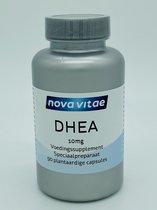 Nova Vitae, DHEA 10 mg, 90 plantaardige capsules