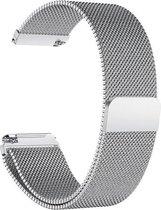 Fitbit Versa 2 / Versa Luxe Milanees bandje |Zilver / Silver| Premium kwaliteit | One Size | RVS |TrendParts