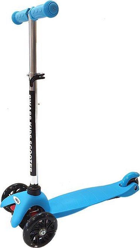 SWASS Kids Scooter Step - LED Wielen - Blauw