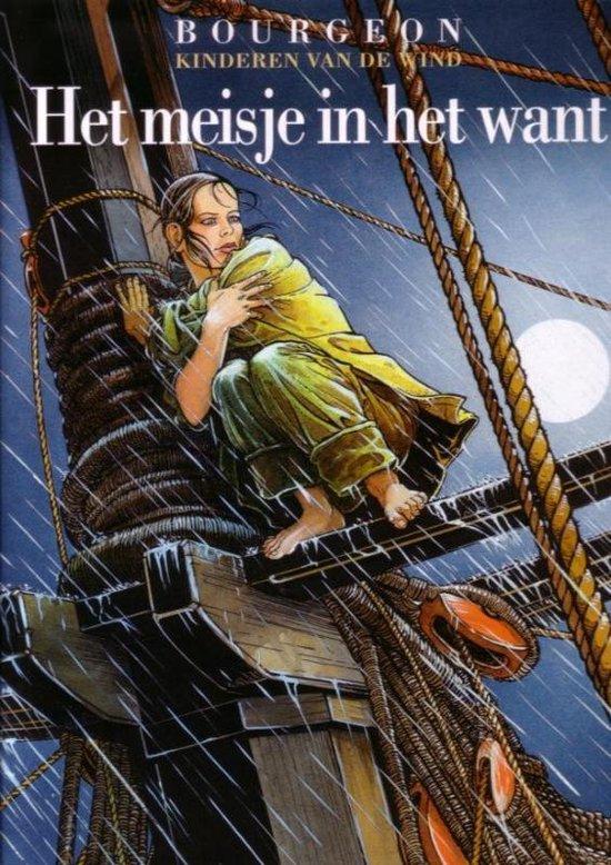 Cover van het boek 'Kinderen van de wind 001 Het meisje in het want'
