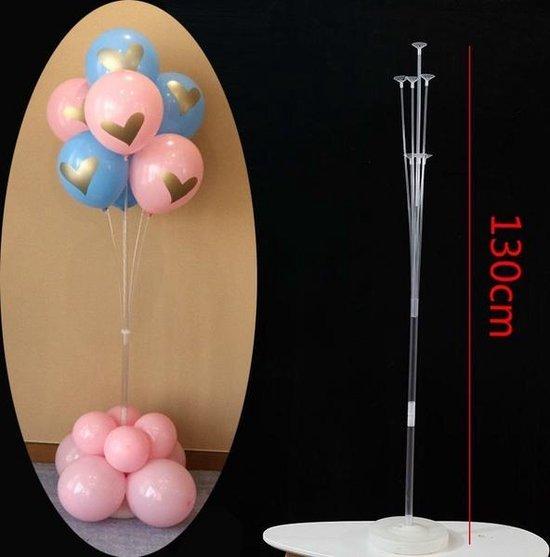 Lampion-Lampionnen ballon standaard 7 armig - 130 cm hoog super groot ! - ballonnen boom
