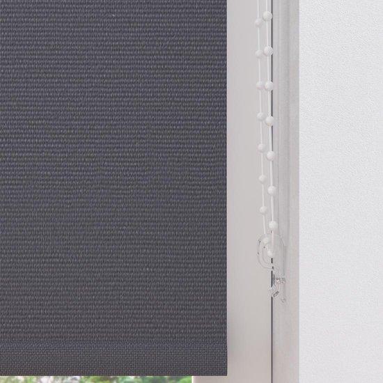 Rolgordijn Easy Verduisterend Dark Grey 120 x 190 cm