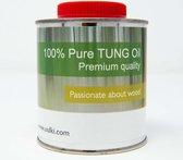 Uulki 100% Pure Tungolie – Houtolie voor Buiten - Houtbescherming Tung Olie voor Huis en Tuin Olie Waterbestendig Waterafstotend Waterproof (250 ml)