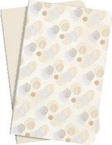 notitieboek Sigel Jolie set van 2 stuks, A6 softcovercover gelinieerd beige SI-JN708